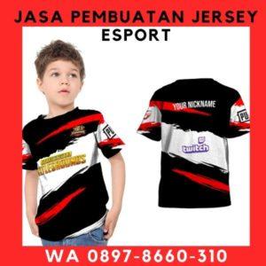 JASA PEMBUATAN JERSEY GAME WA 08978660310