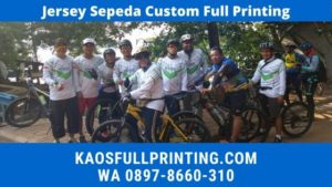 Jasa Pembuatan Jersey Sepeda WA 08978660310
