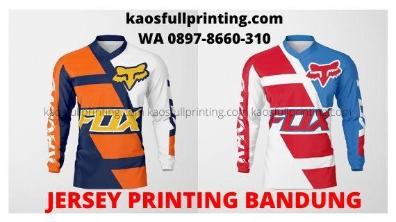 Jersey Printing Terbaik Bandung | WA 0897-8660-310