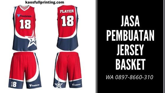 Jasa Pembuatan Jersey Basket – WA 0897 8660 310