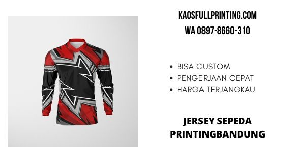 jasa pembuatan jersey sepeda bandung WA 0897-8660-310