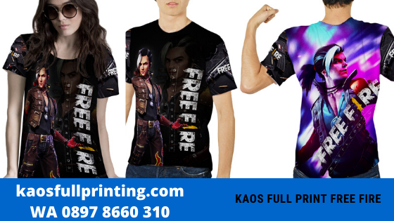 kaos full print bandung free fire