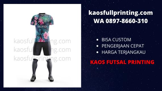 Jasa pembuatan jersey futsal