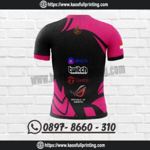 Buat Jersey Esport Bandung Belakang