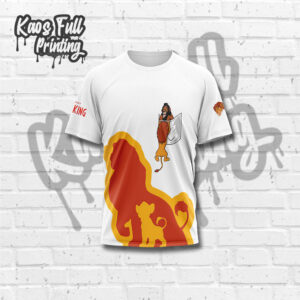 Kaos Lion King Dewasa
