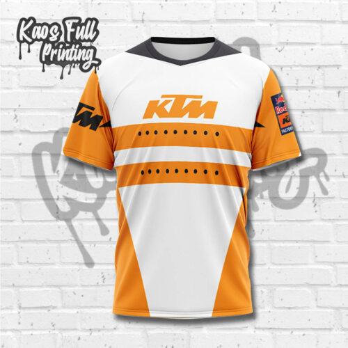 Jersey Motocross Lengan Pendek