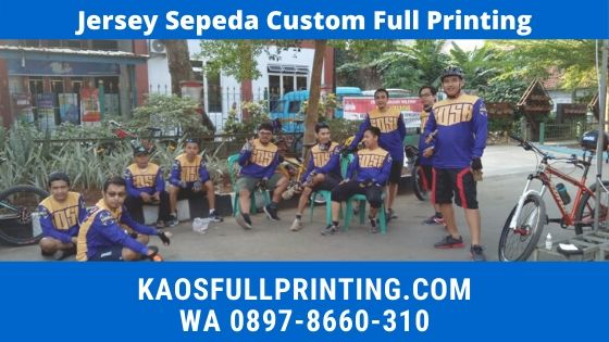Jasa Pembuatan Jersey Sepeda WA 0897-8660-310