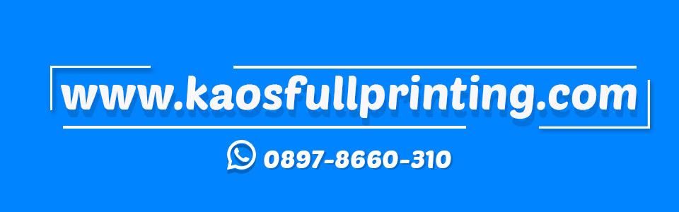Pusat Kaos Full Printing | WA 0897-8660-310